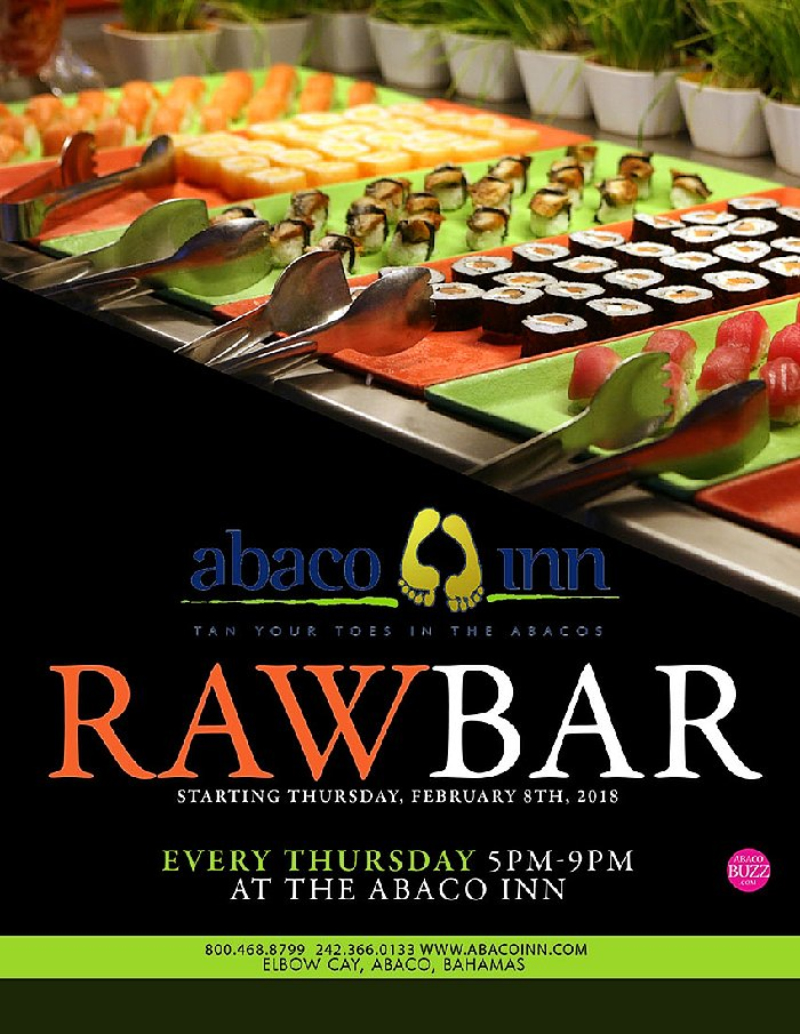 Raw Bar At The Abaco Inn