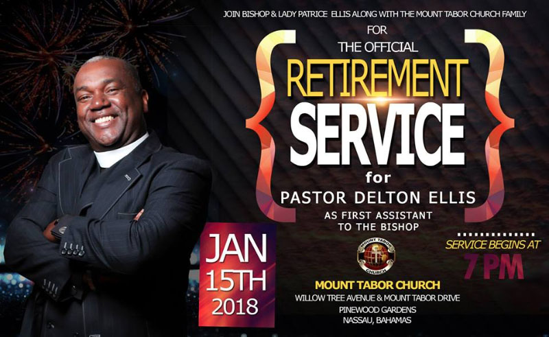 Retirement Service for Pastor Delton Ellis