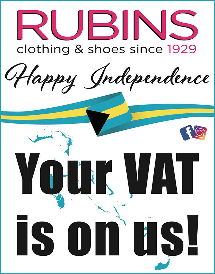 Rubins Shop And Save | For The Month Of July Your VAT is on Us!