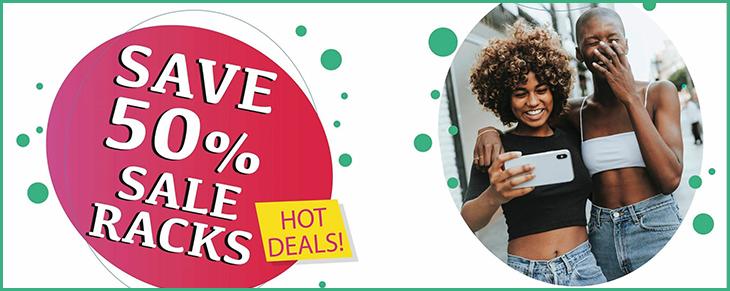 Rubins 50% OFF Save On All Sale Racks
