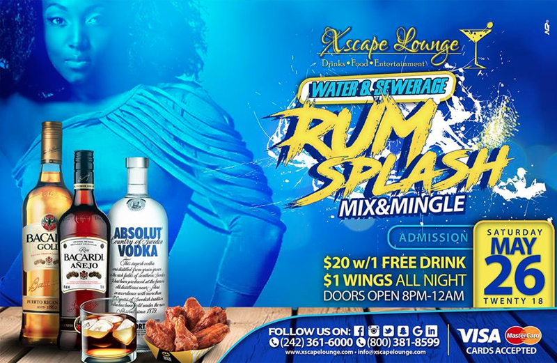 Rum Splash Mix & Mingle Hosted by Xscape Lounge