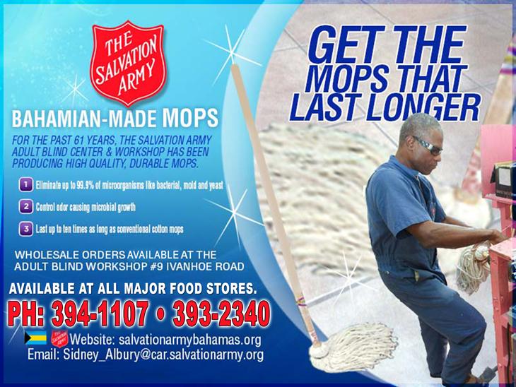 Bahamian Made Mops