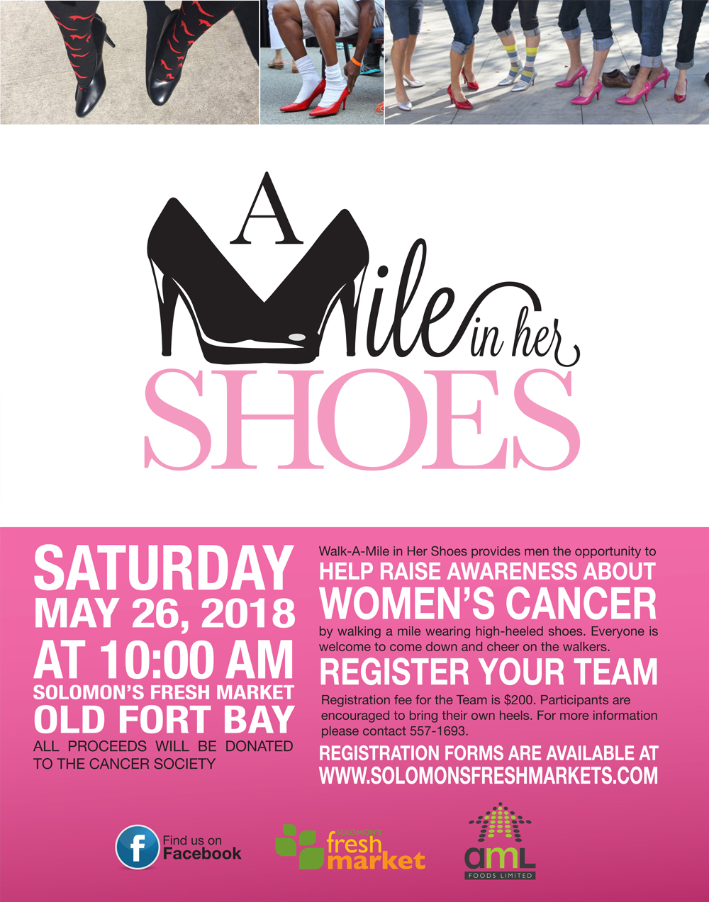A Mile In Her Shoes With Solomon's Fresh Market