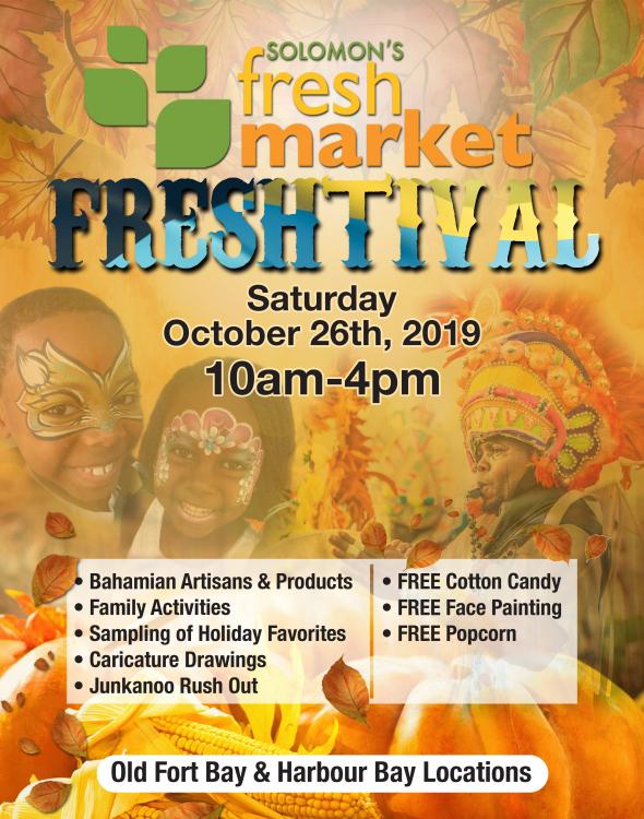 Freshtival - October 26th @ Solomon's Fresh Market