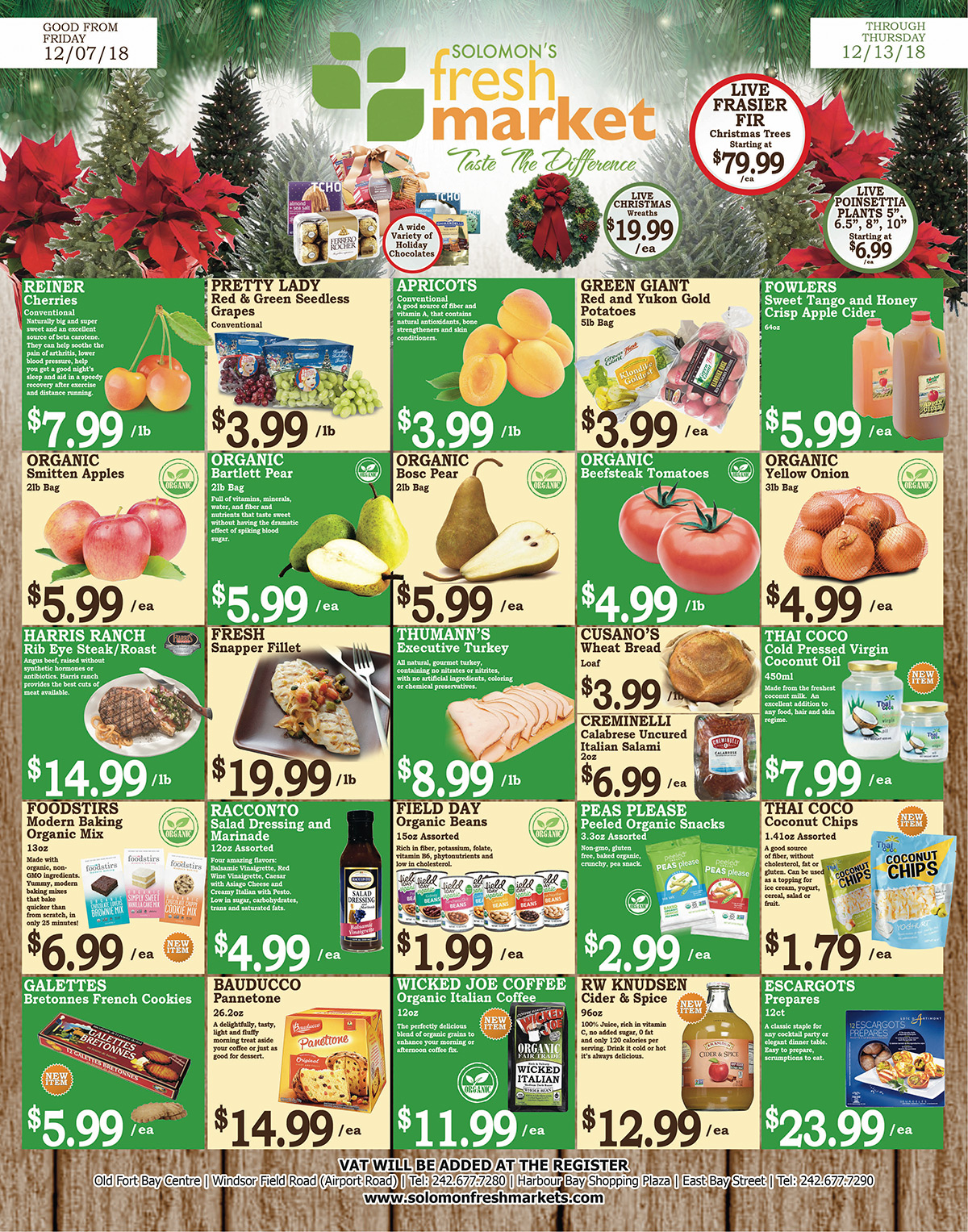 Solomons Fresh Market. Weekly Savings!