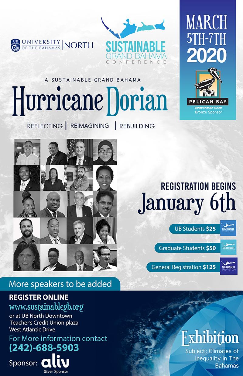 University of The Bahamas In a Post-Dorian Bahamas, Grand Bahama Conference