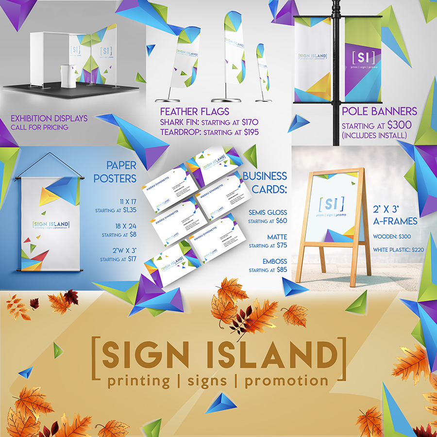 Sign Island | Printing. Signs. Promotion.