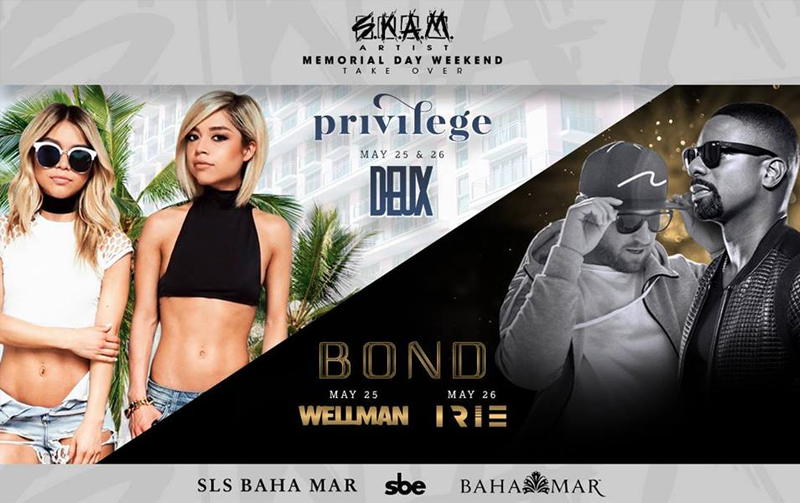 SKAM Artist Memorial Day Takeover Hosted by SLS Baha Mar