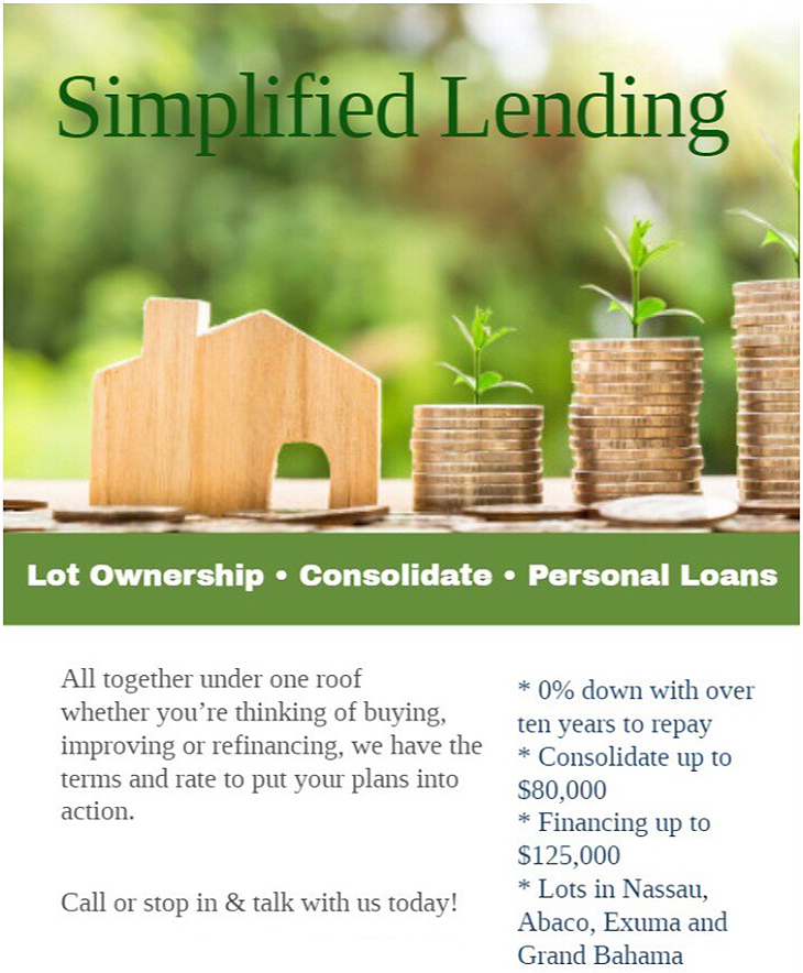 Simplified Lending - Lot Ownership, Consolidate, Personal Loans