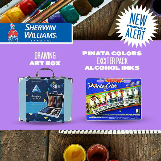 Sherwin Williams Paint Art Supplies Section