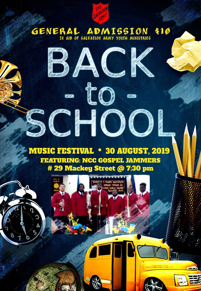 The Salvation Army - Back To School Music Festival