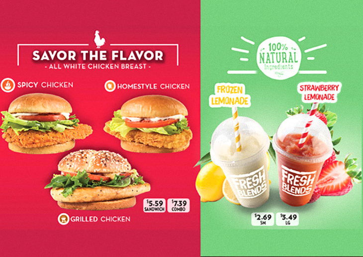 NEW Savor The Flavor at Wendys!