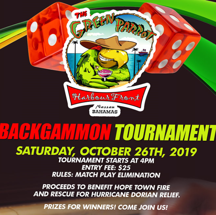 Backgammon Tournament at The Green Parrot