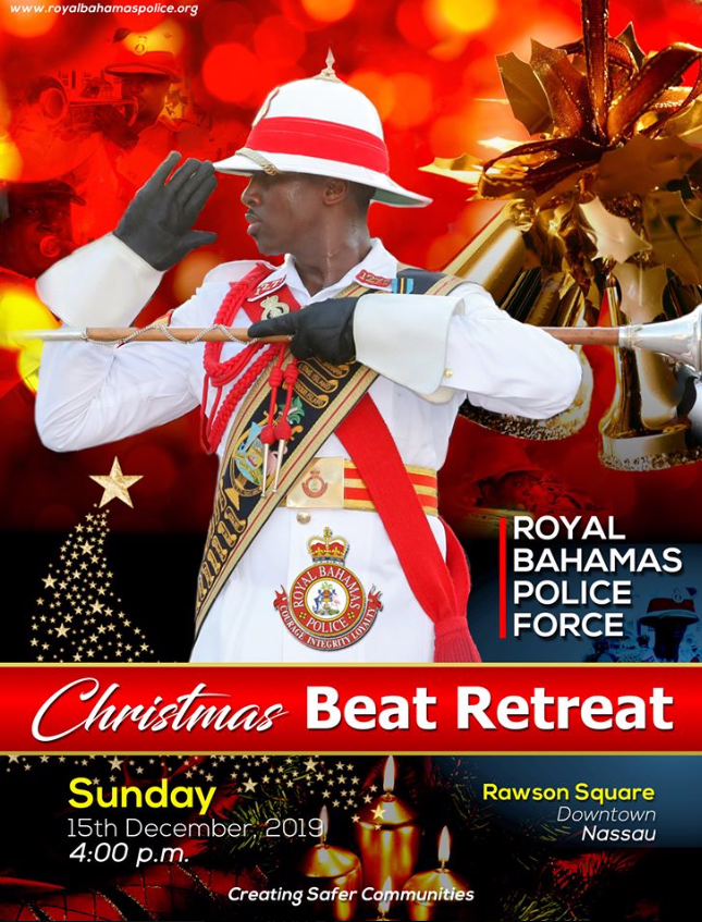 Christmas Beat Retreat at Rawson Square
