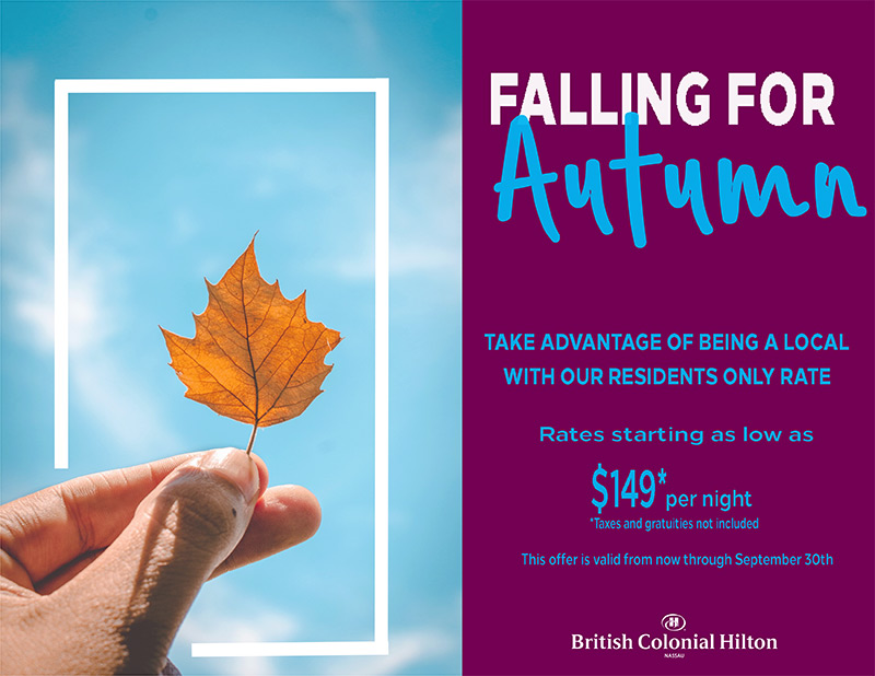 Falling For Autumn Promotion British Colonial Hilton Local Rates