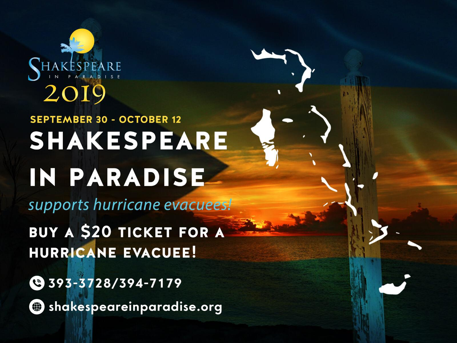 Shakespeare in Paradise 2019