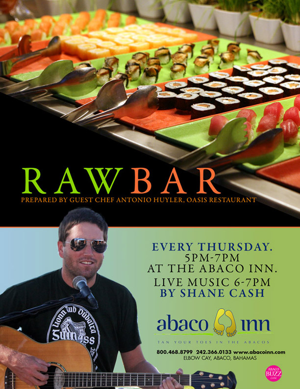 Shane Cash LIVE @ Abaco Inn