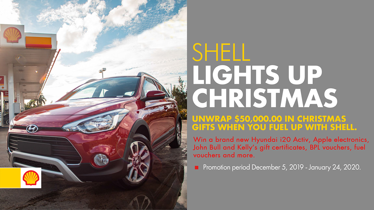 Shell Lights Up For The Christmas