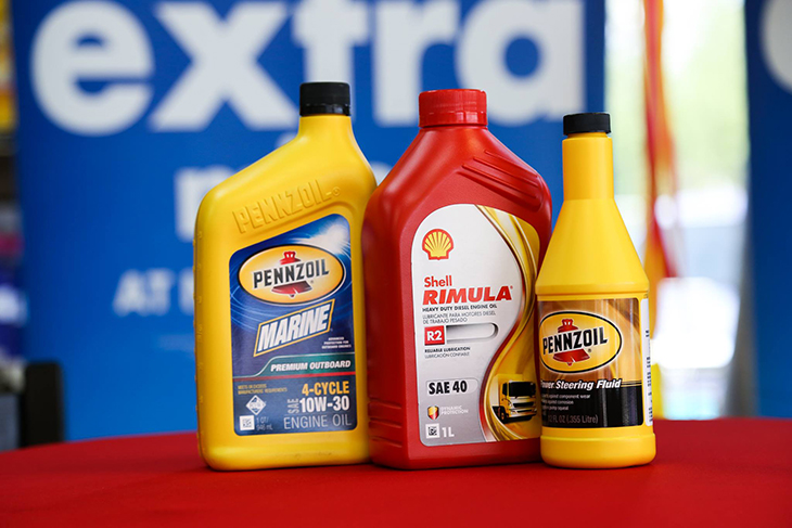 Find the right Pennzoil products for your engine at all Shell stations.