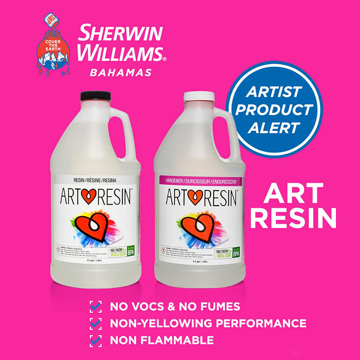 NEW PRODUCT ALERT: After your requests, we're now carrying Art Resin