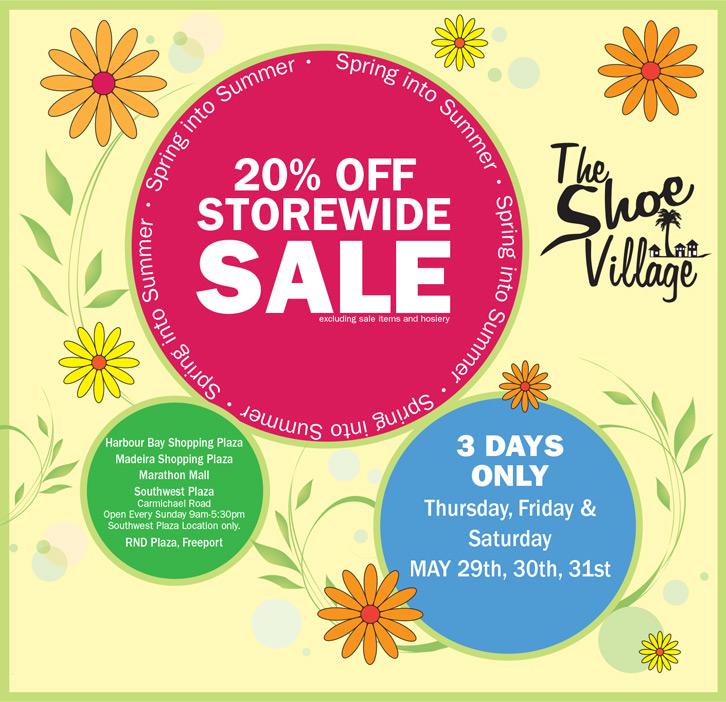 The Shoe Village Spring Sale