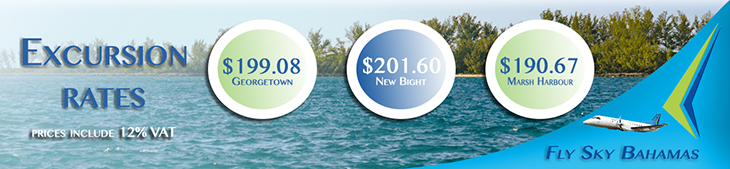 Excursion Rates With Sky Bahamas