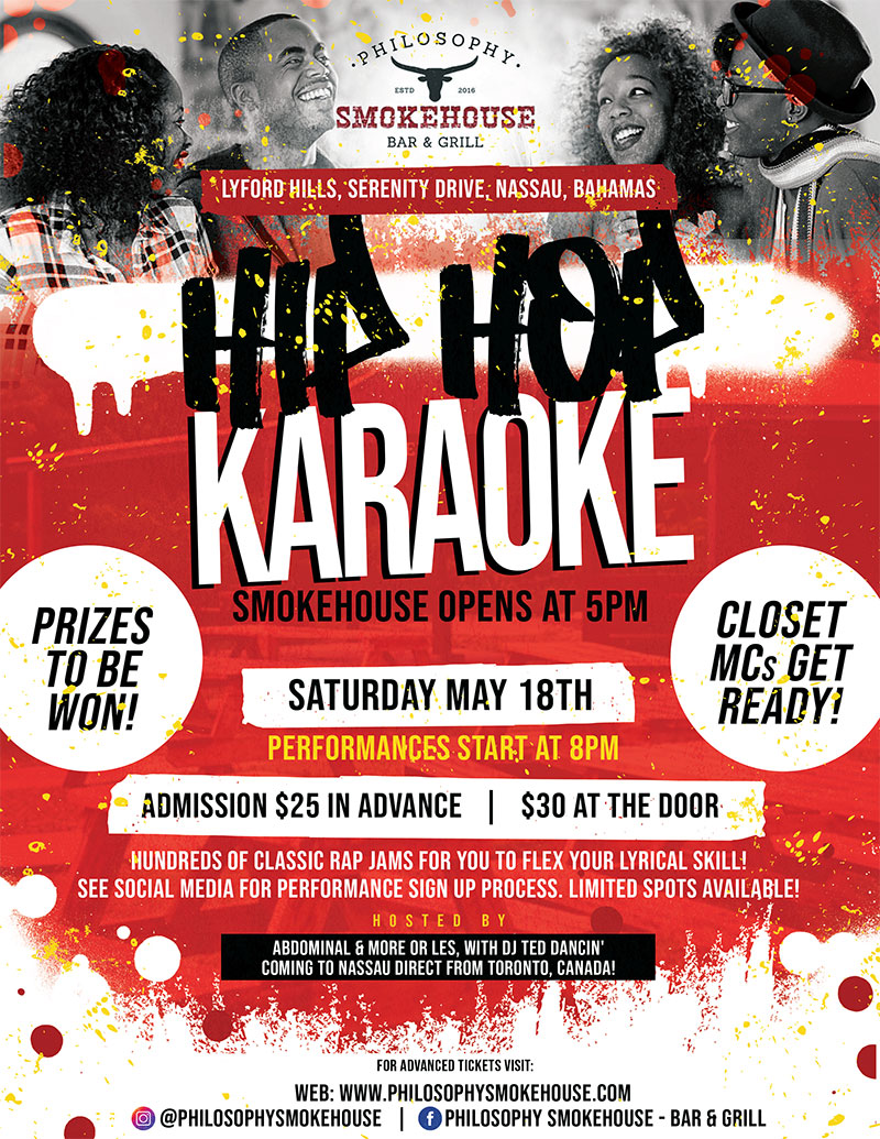 First Ever Hip Hop Karaoke At Philosophy Smokehouse