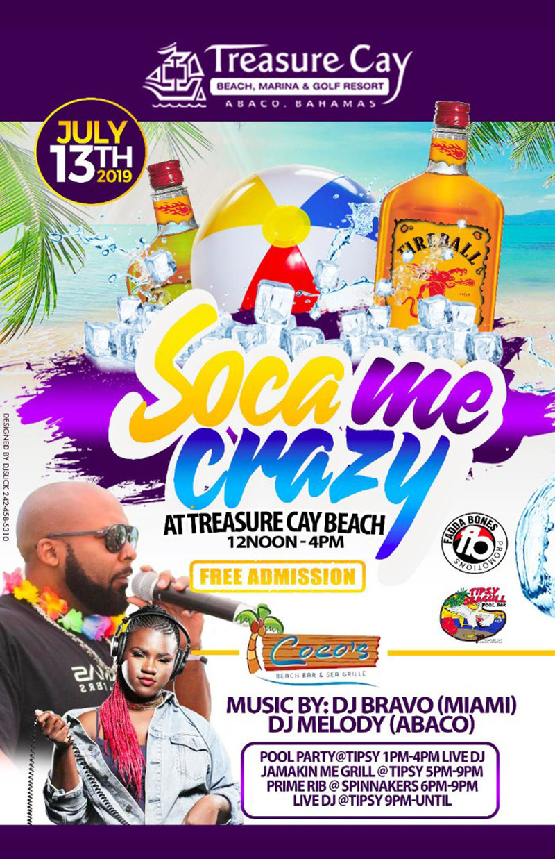 Soca Me Crazy At Treasure Cay Beach