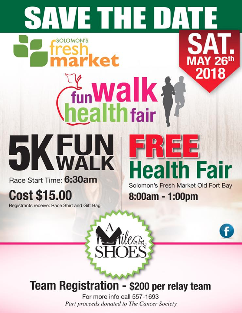 Solomon's Fresh Markets Fun Walk Health Fair