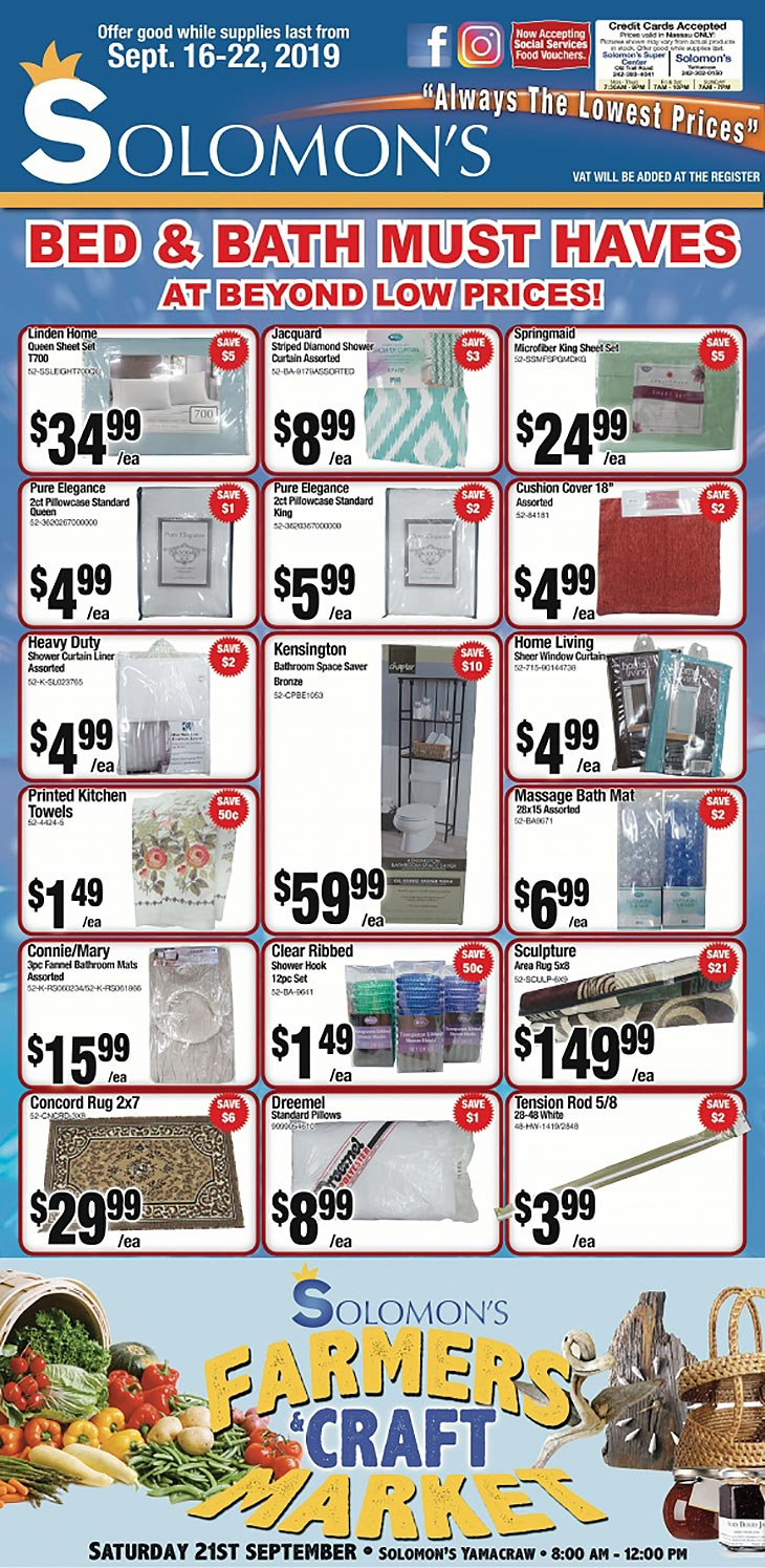 Bed and Bath Must Haves!