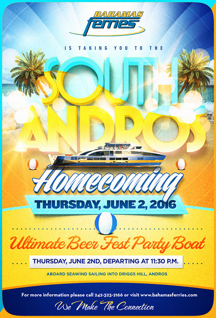 South Andros Homecoming w/ Bahamas Ferries