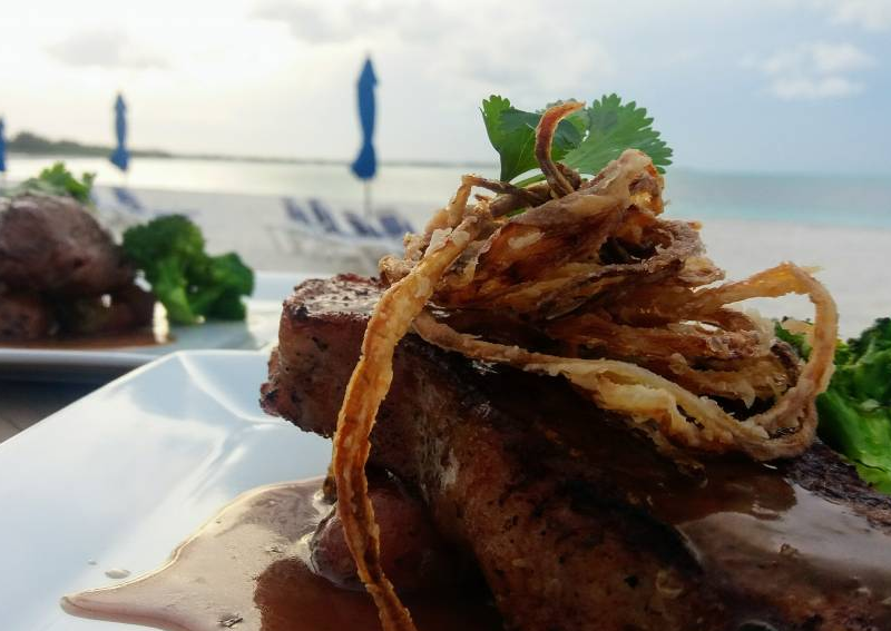 Steak Night at Bahama Beach Club