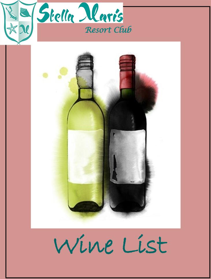 Stella Maris Wine List