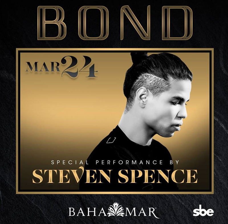 Steven Spence at BOND Nightclub