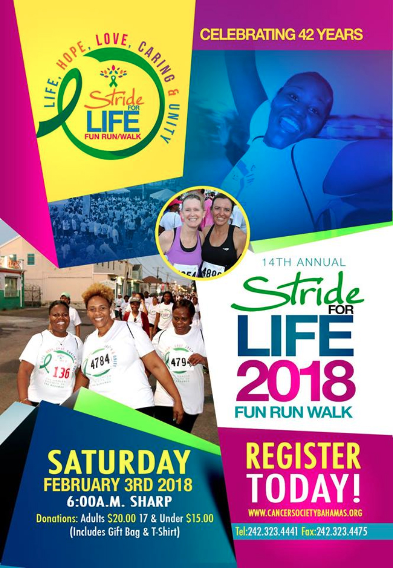 Stride for Life Fun, Run, Walk 2018