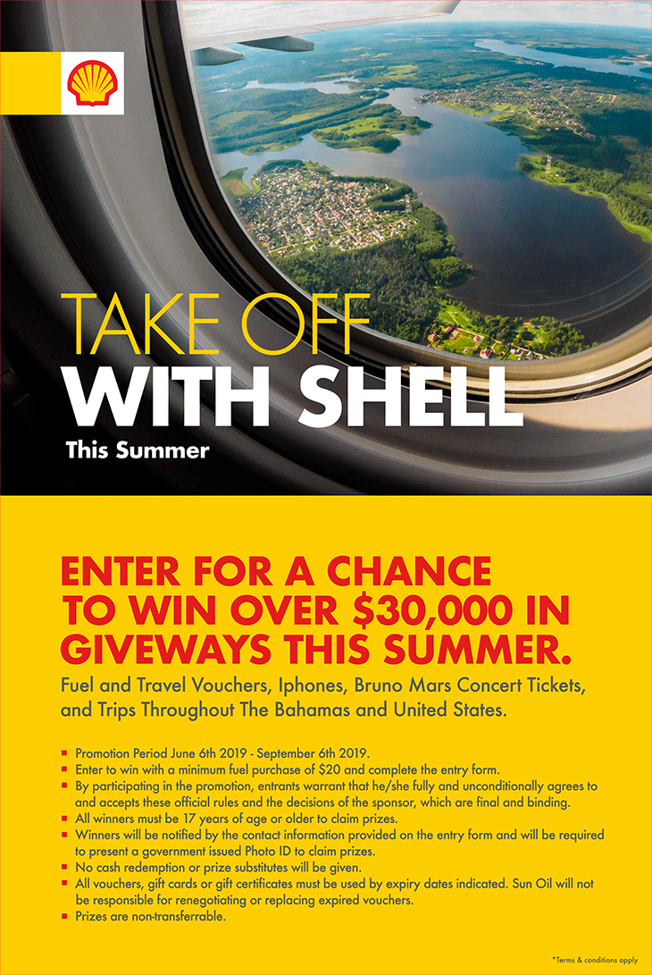 Take Off With Shell This Summer. Enter For A Chance To Win Over $30,000 In Giveaways This Summer