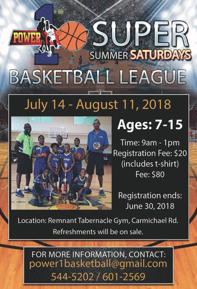 Super Summer Saturdays Hosted by Power1 Basketball