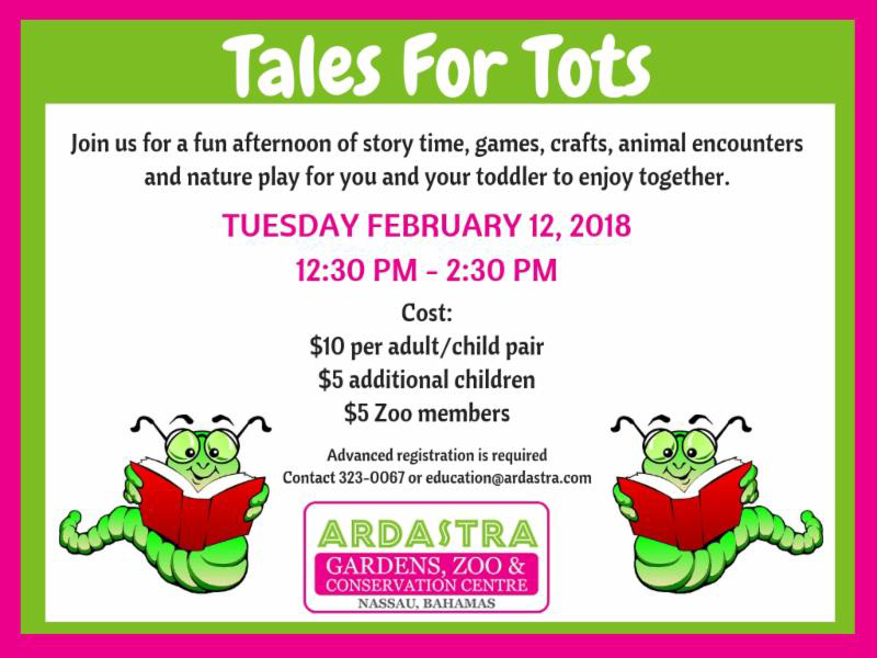 Tales For Tots At Ardastra Gardens