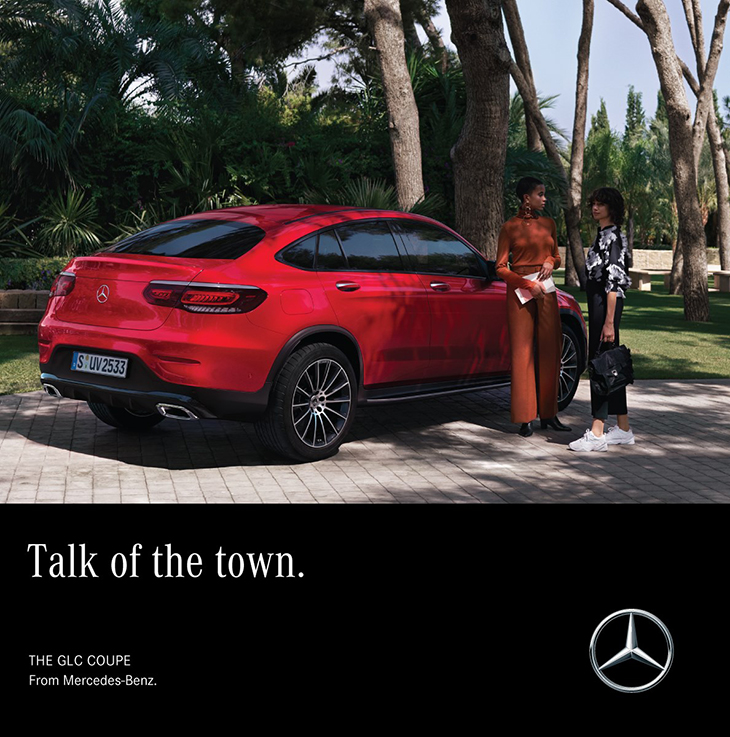 Make an entrance worth talking about! Contact us to find out more about the GLC Coupé.
