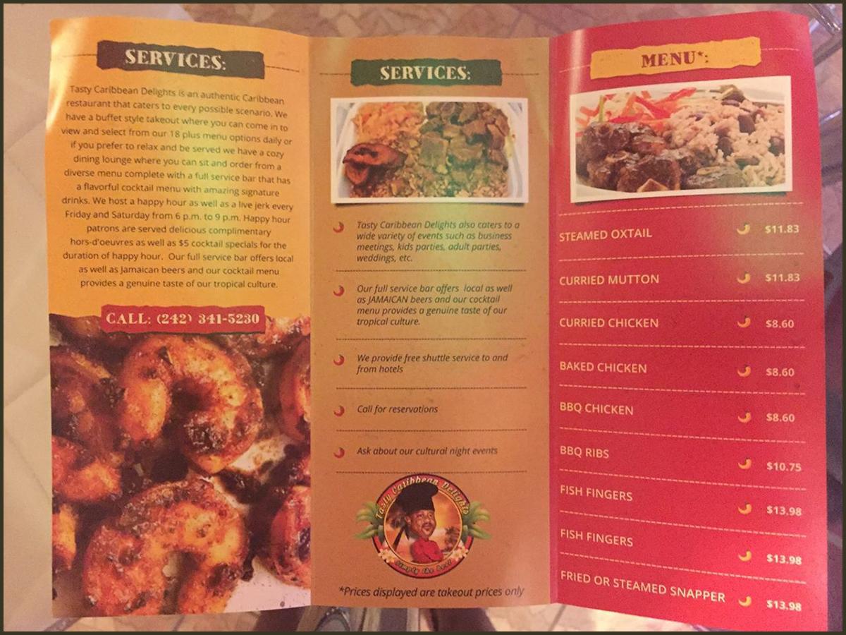 Tasty Caribbean Delights