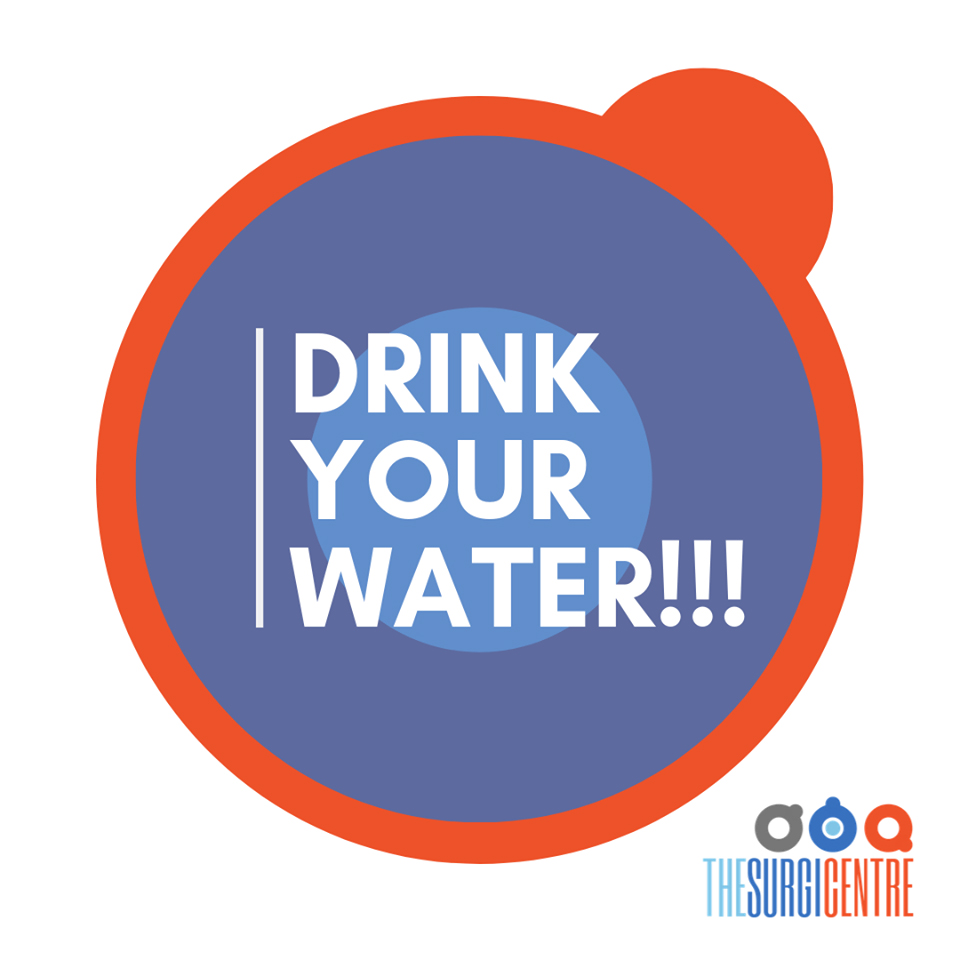 The Surgi Centre | DRINK 8 GLASSES OF WATER DAILY!!!