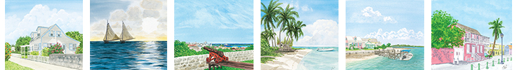 The Bahamian Calendar Artwork
