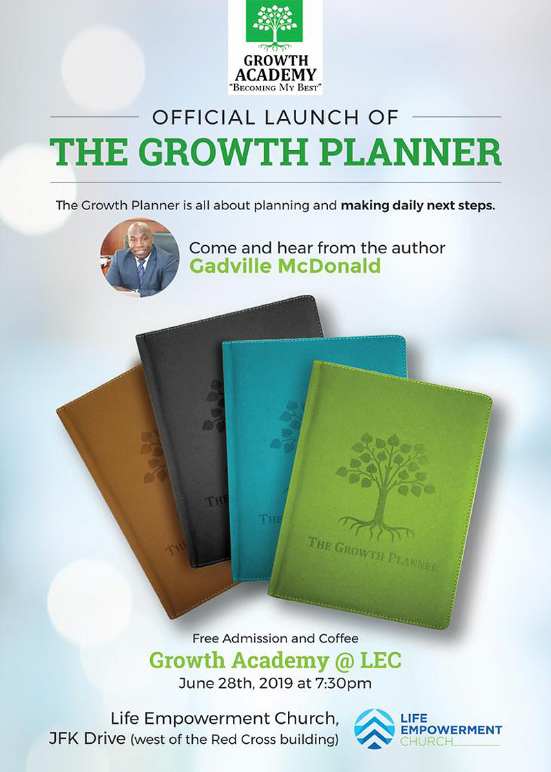 Life Empowerment Church Presents The Growth Planner Launch At Growth Academy