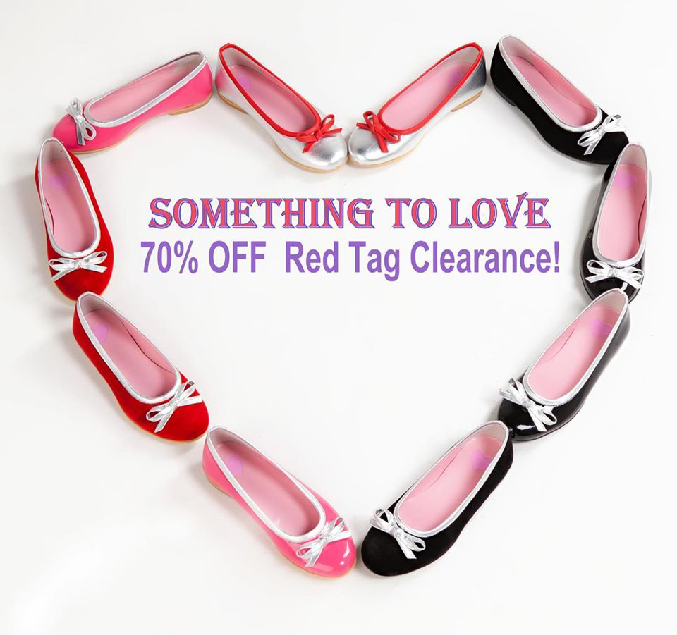 70% OFF 100's of red tags at our Palmdale Plaza CLEARANCE SALE.