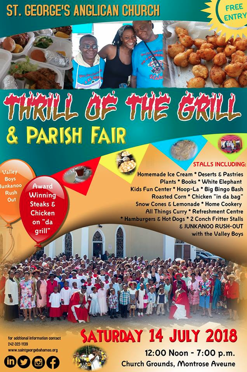 Thrill Of The Grill & Parish Fair Hosted by St. George's Anglican Church