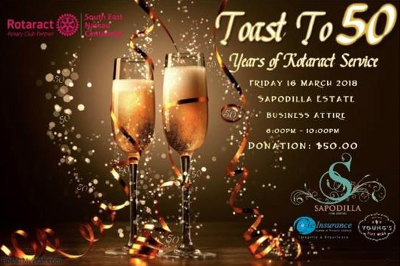 Toast to 50 Years of Rotaract Service