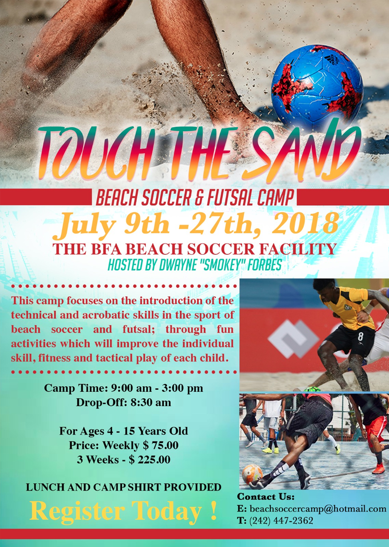 Touch The Sand: Beach Soccer & Futsal Camp