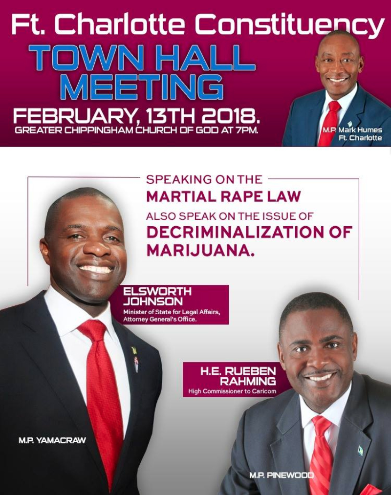 Ft. Charlotte Constituency Town Hall Meeting