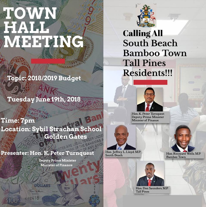 Town Hall Meeting: 2018/2019 Budget