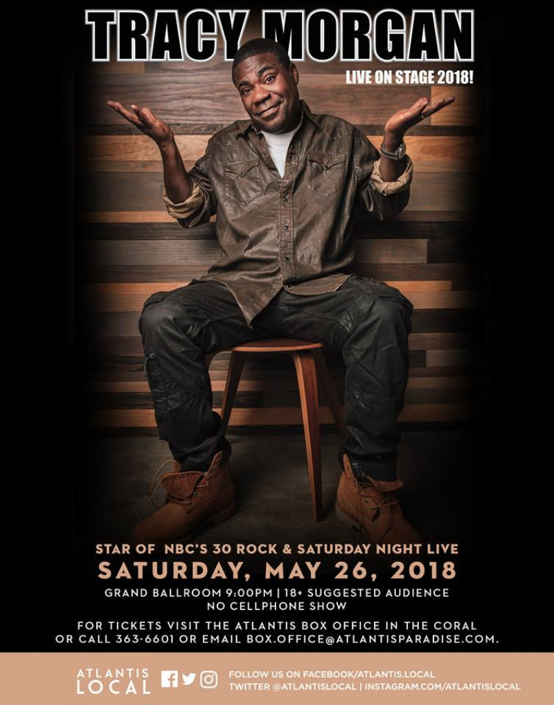 Tracy Morgan Live 2018